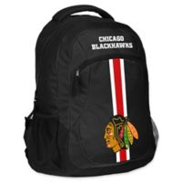 NHL Chicago Blackhawks 18-Inch Action Stripe Backpack