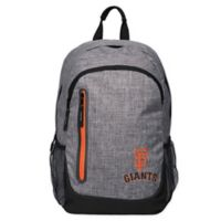MLB San Francisco Giants 18-Inch Laptop Backpack in Heather Grey