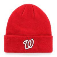 MLB Washington Nationals Mass Cuff Knit Cap Beanie
