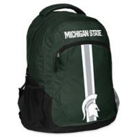Michigan State University 18-Inch Action Stripe Backpack