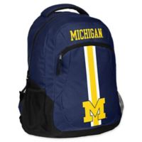 University of Michigan 18-Inch Action Stripe Backpack