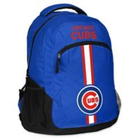 MLB Chicago Cubs 18-Inch Action Stripe Backpack