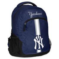 MLB New York Yankees 18-Inch Action Stripe Backpack