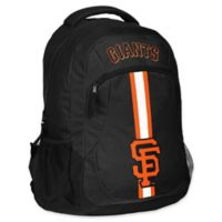 MLB San Francisco Giants 18-Inch Action Stripe Backpack