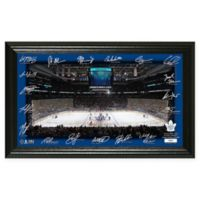 NHL Toronto Maple Leafs 2018 Signature Rink Photo Mint