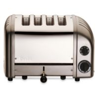 Dualit® 4-Slice NewGen Classic Toaster in Charcoal