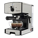Image Of Capresso® EC50 Stainless Steel Pump Espresso U0026 Cappuccino Machine