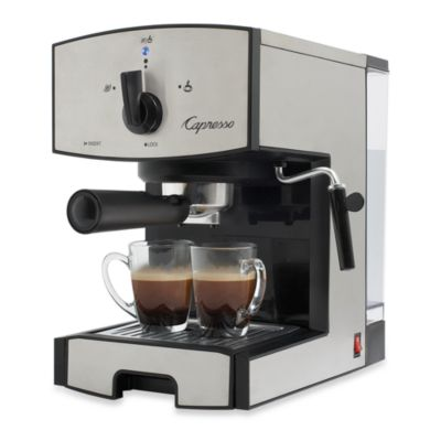 Capresso EC50 Stainless Steel Pump Espresso & Cappuccino Machine - Bed Bath & Beyond