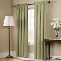 Blackstone 63-Inch Rod Pocket Room Darkening Window Curtain Panel in Sage