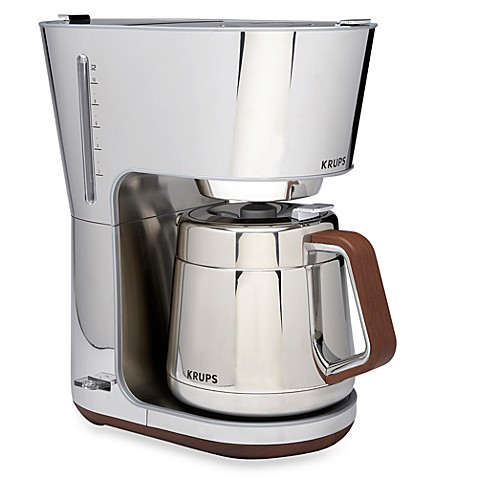 Krups® Silver Art Collection 10 Cup Coffee Machine