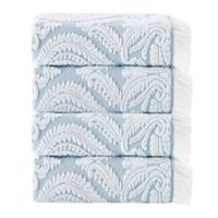 Enchante Home® Laina 4-Piece Bath Towel Set in Turquoise