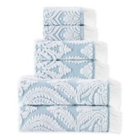 Enchante Home® Laina 6-Piece Bath Towel Set in Turquoise