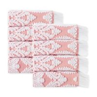 Enchante Home® Laina Hand Towel in Pink (Set of 8)