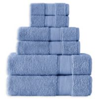 Grund Pinehurst 6-Piece Turkish Organic Cotton Towel Set in Sea Blue