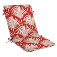 Print Indoor/Outdoor Mid Back Cushion in Spice Palm