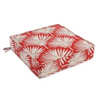 Outdoor Deep Seat Cushion in Spice Palm