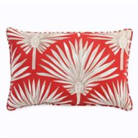 Print Indoor/Outdoor 13-Inch x 20-Inch Throw Pillow in Spice Palm
