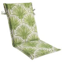 Print Outdoor Sling Chair Cushion in Green Palm