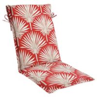 Print Outdoor Sling Chair Cushion in Spice Palm