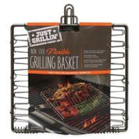 Just Grillin' Nonstick Flexible/Expandable Grilling Basket