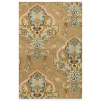 Rizzy Home Volare Jasmine Latte 9-Foot x 12-Foot Wool Rug