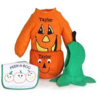 Silly Phillie® Creations Size 6-12M 4-Piece Pumpkin Halloween Costume
