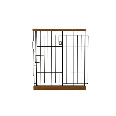 Richell Expandable Matte Small Pet Pen Divider in Autumn