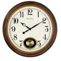 Bulova Jefferson 20-Inch Wall Clock
