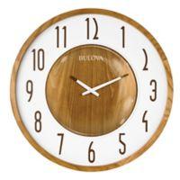 Bulova Broadway 22-Inch Wall Clock