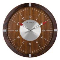 Bulova Aerojet 30-Inch Wall Clock