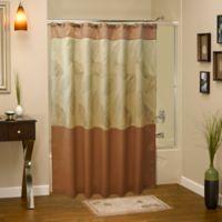 Sherry Kline Rindge Shower Curtain in Tan