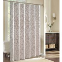 Charisma Avalon Shower Curtain In Champagne Gold