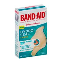 Johnson & Johnson Band-Aid® Brand Hydro Seal™ 6-Count Large Bandages