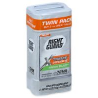 Right Guard® 8 oz. Xtreme Defense 2-Count Gel Antiperspirant and Deodorant in Fresh