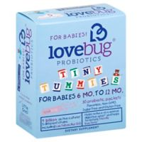 LoveBug® Tiny Tummies™ 30-Count 6-12 Months Baby Probiotics Packets