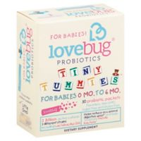 LoveBug® Tiny Tummies™ 30-Count 0-6 Months Baby Probiotics Packets