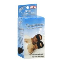 Mack's® Dreamweaver™ Contoured Sleep Mask in Black with Earplugs