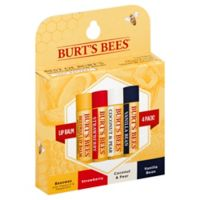 Burt's Bees® 4-Pack .15 oz. Assorted Lip Balms