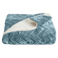 Home Fashion Designs Reversible Solid Full/Queen Blanket in Blue