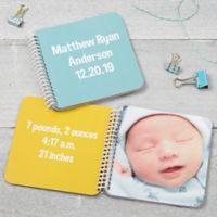 Baby Keepsake Soft Cover Mini Photo Book