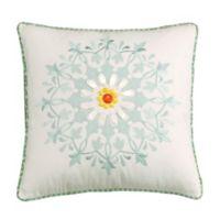 Echo Design™ Jaipur Square Throw Pillow in White