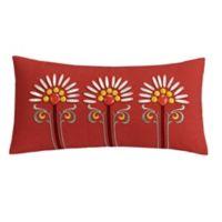 Echo Design™ Jaipur Oblong Throw Pillow in Red