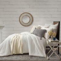 Bee & Willow™ Home Waffle Crochet Bed Scarf in Ivory