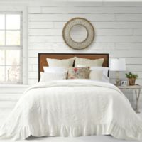 Bee & Willow™ Home Cottage Matelasse Queen Bedspread in White