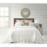 Bee & Willow™ Home Cottage Matelasse King Bedspread in White