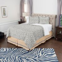 Rizzy Home Animal Print King Comforter Set