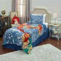 Rizzy home Travel and Explore Abstract 2-Piece Twin Comforter Set in Blue