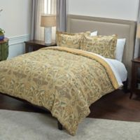 Rizzy Home Rosmond Heights Medallion Comforter Set in Yellow