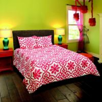 Rizzy Home Marissa King Comforter Set in Pink