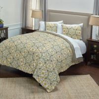 Rizzy Home Tradewinds Queen Comforter Set in Light Blue